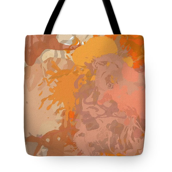 Dainty Visual Tote Bag by Lourry Legarde