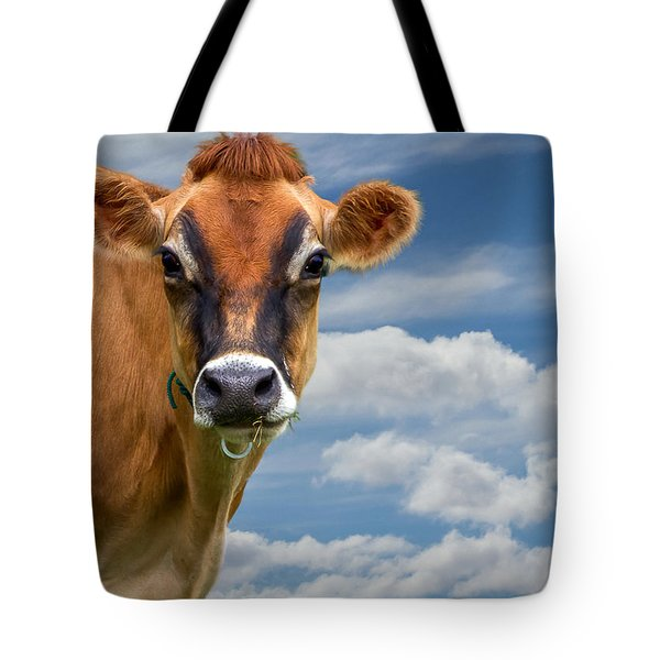 Dairy Cow  Bessy Tote Bag