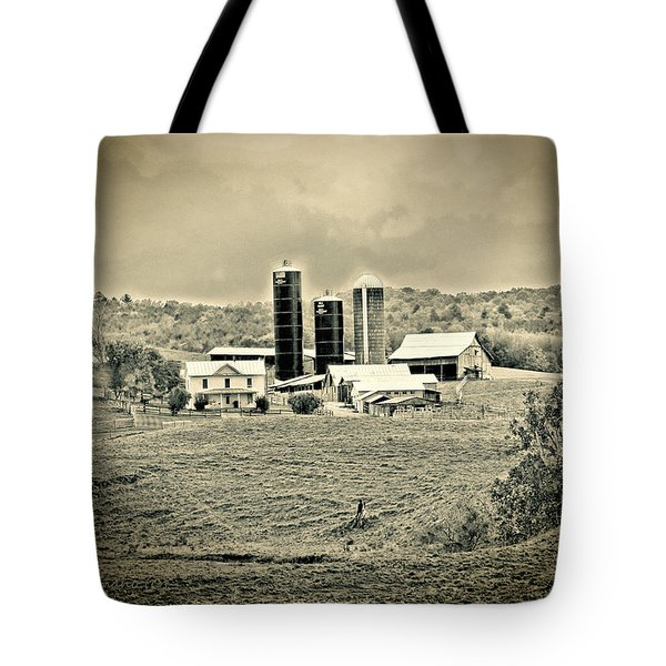 Dairy Farm Tote Bag by Denise Romano