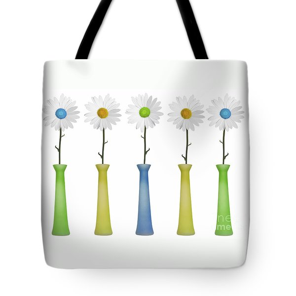 Daisies Tote Bag by Diane Diederich