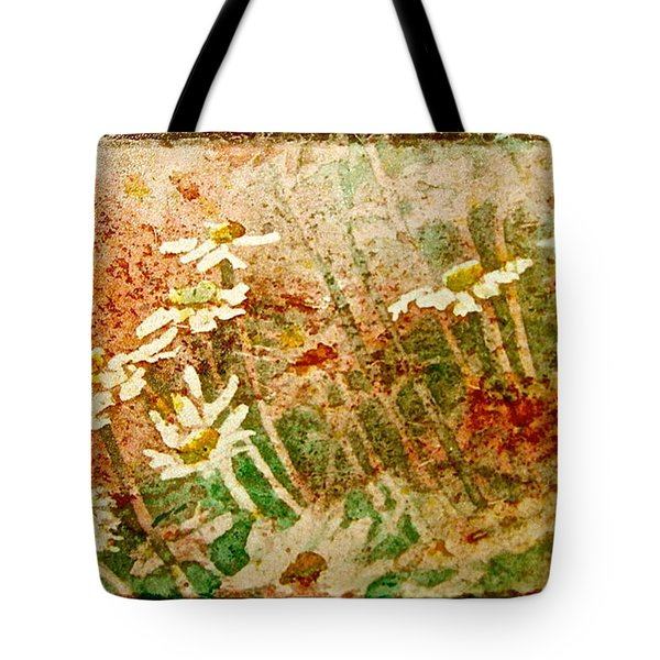 Daisies In The Wind Tote Bag