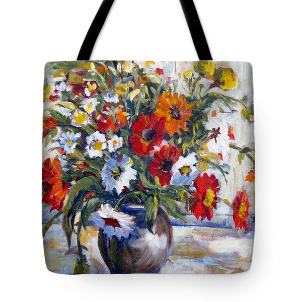 Daisies Tote Bag by Alexandra Maria Ethlyn Cheshire