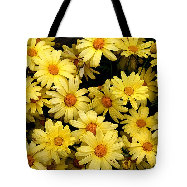 Daisies Tote Bag by John Bushnell
