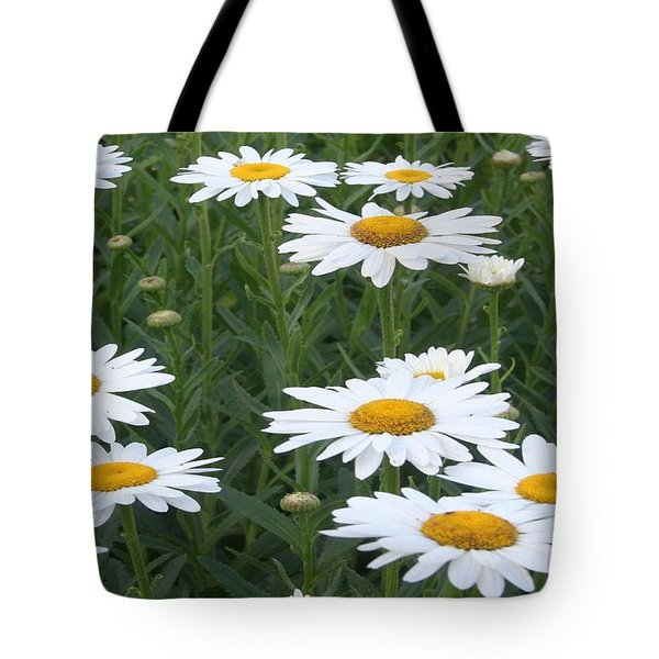 Daisies Tote Bag by Tracey Harrington-Simpson