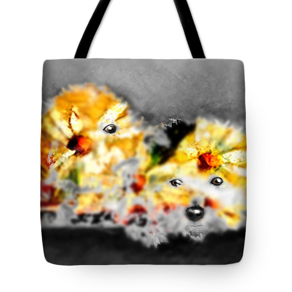 Daisy Animal Tote Bag by Marcello Cicchini