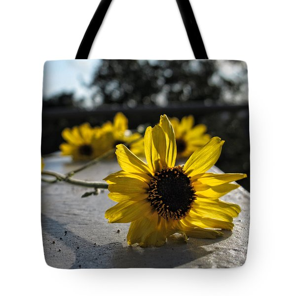 Daisy Daisy Give Me Your Answer Tote Bag