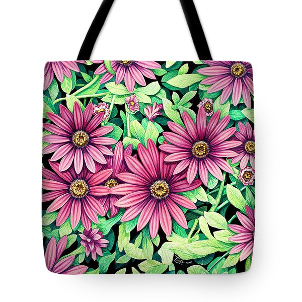 Daisy Flowers Tote Bag