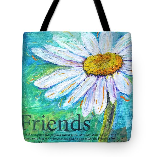 Daisy Friends Tote Bag