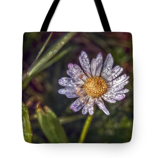 Daisy Tote Bag by Hanny Heim