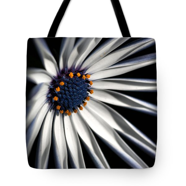 Tote Bag featuring the photograph Daisy Heart by Joy Watson