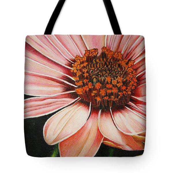 Daisy In Pink Tote Bag