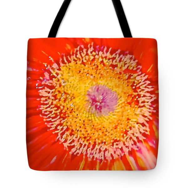 Tote Bag featuring the photograph Daisy Mae by Dee Dee  Whittle