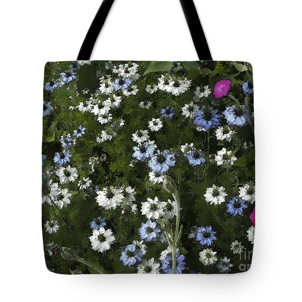 Daisy Pastel Tote Bag by Rich Collins