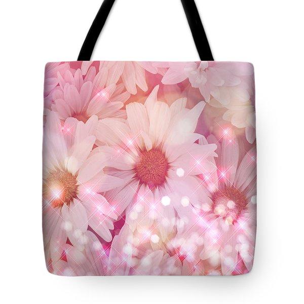 Daisy Sparkles Tote Bag