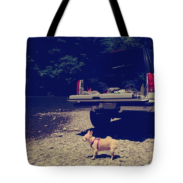 Daisy's Adventure Tote Bag by Laurie Search