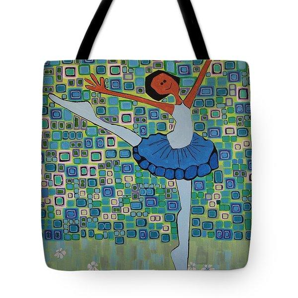 Daizies' Ballet Tote Bag