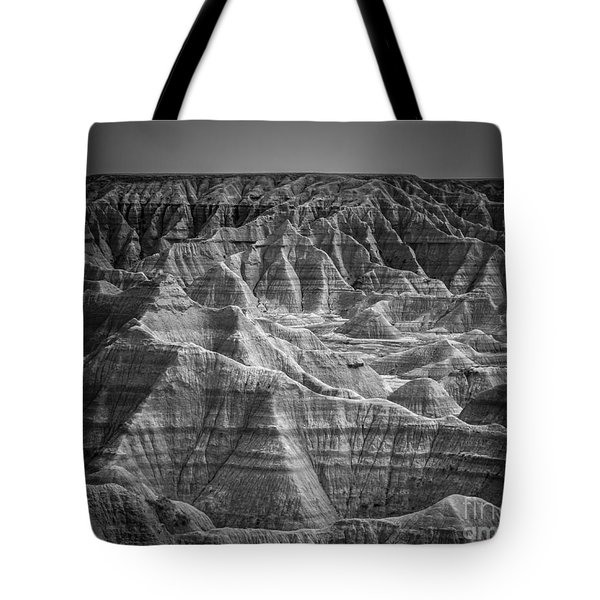 Dakota Badlands Tote Bag by Perry Webster