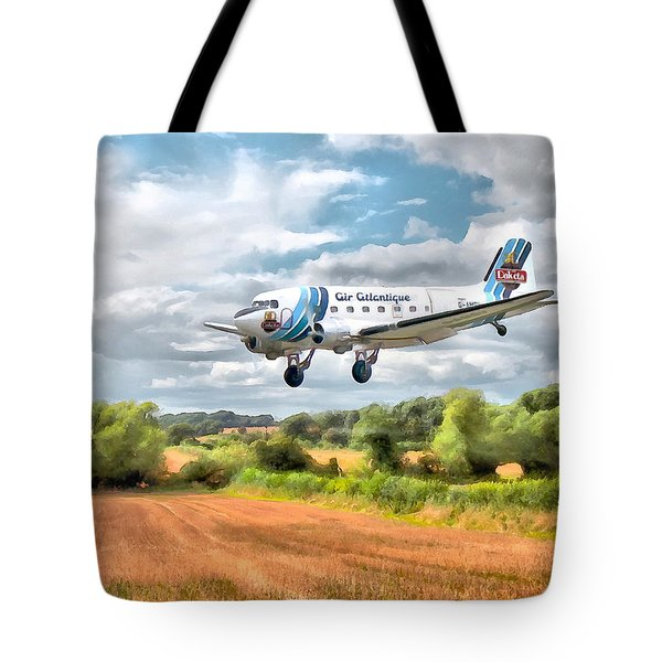 Dakota - Cleared To Land Tote Bag