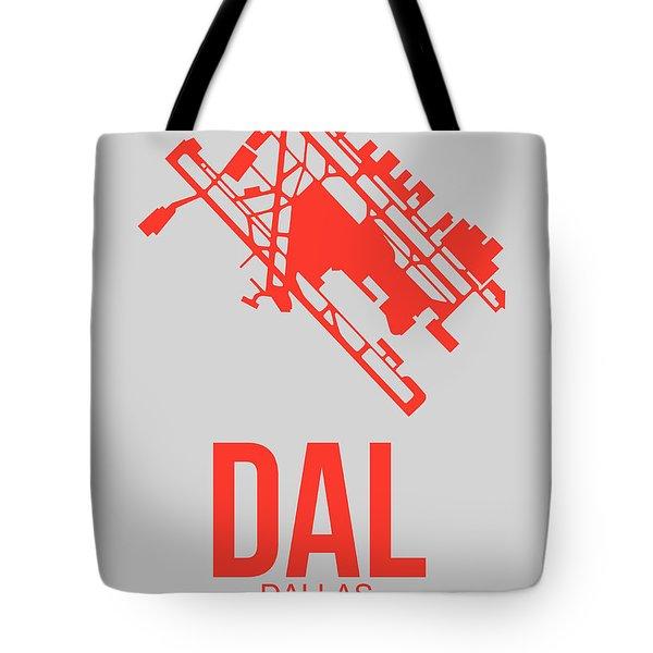 Dal Dallas Airport Poster 1 Tote Bag