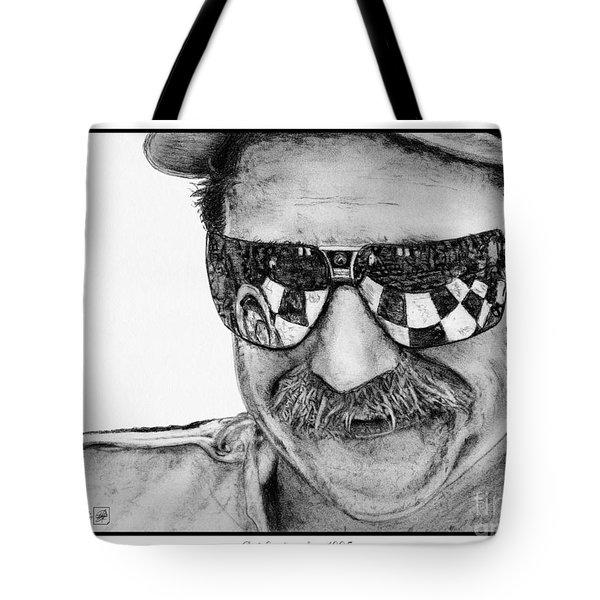 Dale Earnhardt Sr In 1995 Tote Bag