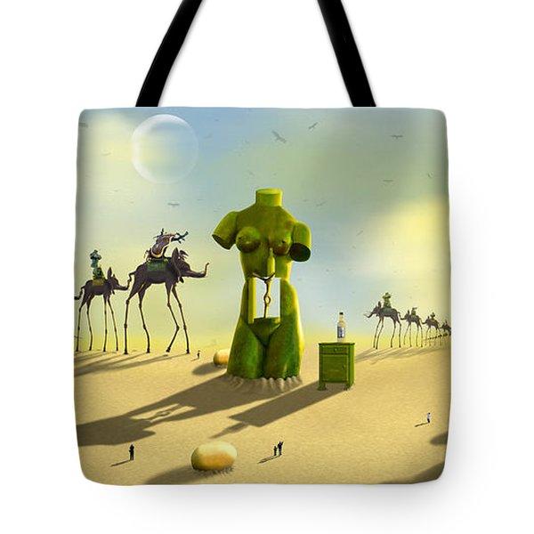 Daliland Park - Panoramic Tote Bag
