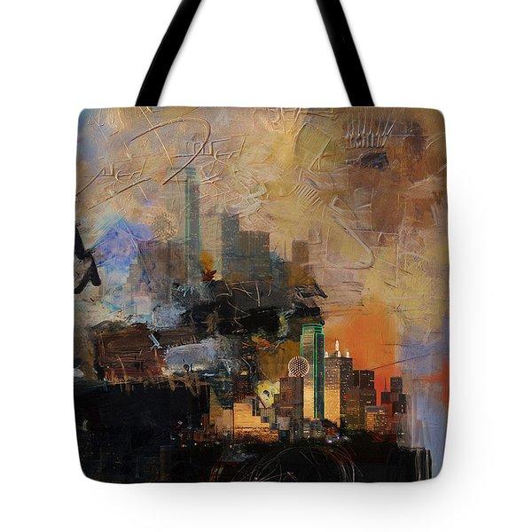 Dallas Abstract 002 Tote Bag