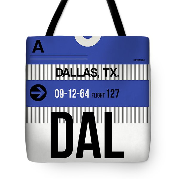 Dallas Airport Poster 1 Tote Bag by Naxart Studio