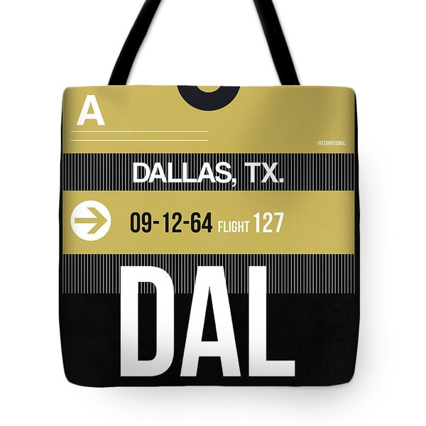 Dallas Airport Poster 2 Tote Bag by Naxart Studio