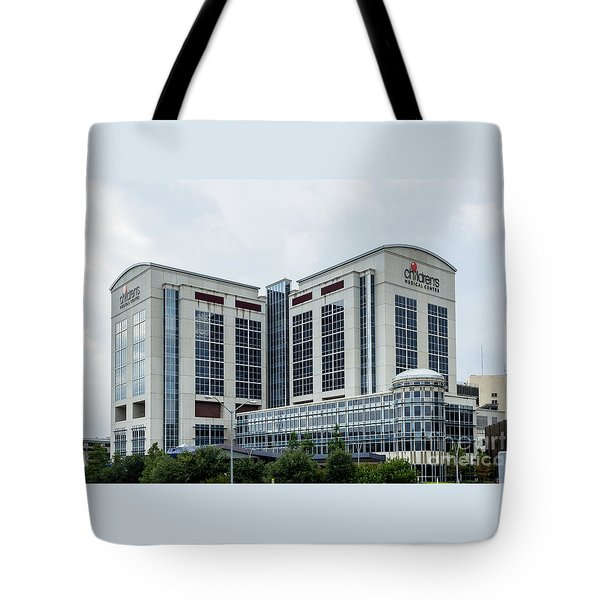 Dallas Children's Medical Center Hospital Tote Bag