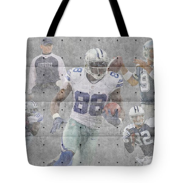 Dallas Cowboys Team Tote Bag