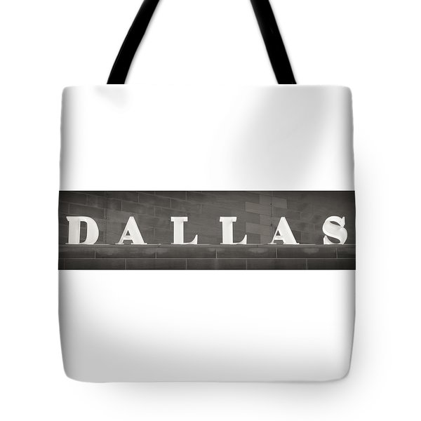 Dallas Tote Bag by Darryl Dalton