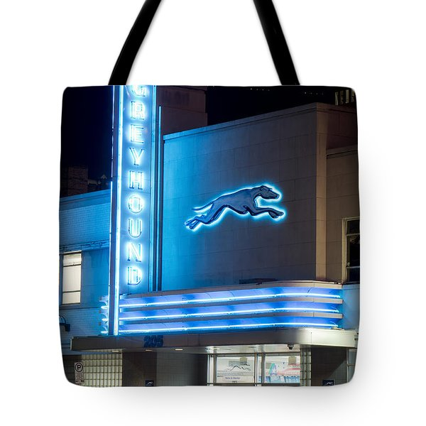 Dallas Greyhound V2 020915 Tote Bag