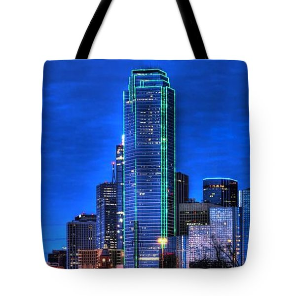 Dallas Skyline Hd Tote Bag