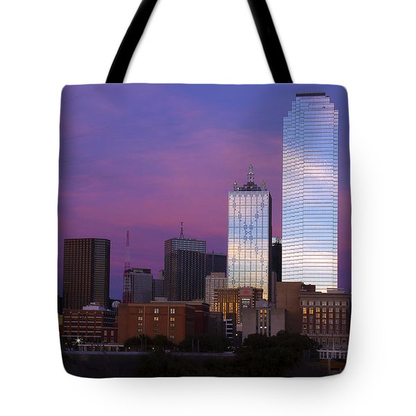 Dallas Sunset Tote Bag