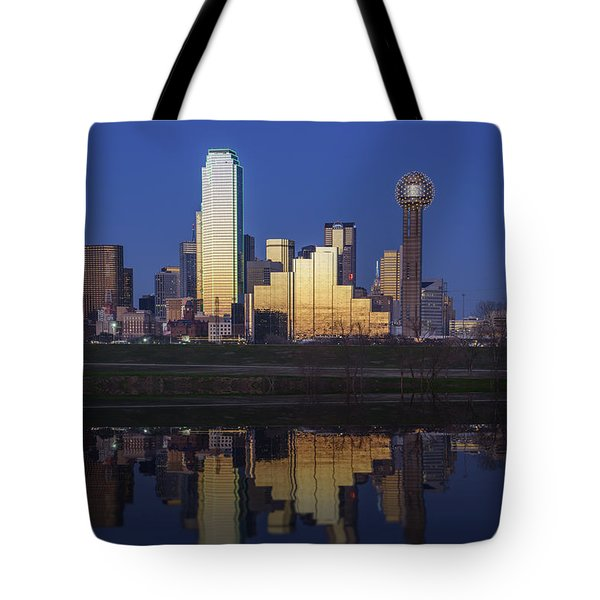 Dallas Twilight Tote Bag by Rick Berk
