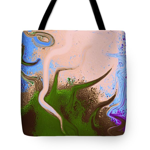 Dally With Dali Tote Bag