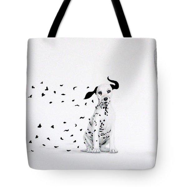 Dalmita Tote Bag by Angel Ortiz
