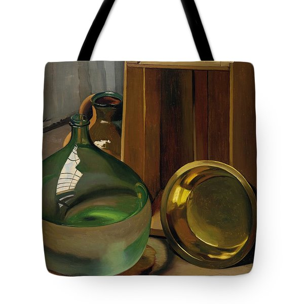 Dame-jeanne And Caisse Tote Bag by Felix Edouard Vallotton