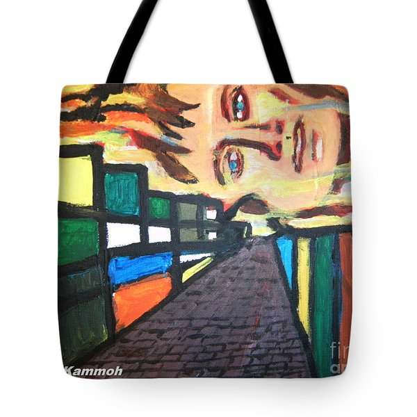 Tote Bag featuring the painting Dame Tessa Jowell 02 by Mudiama Kammoh