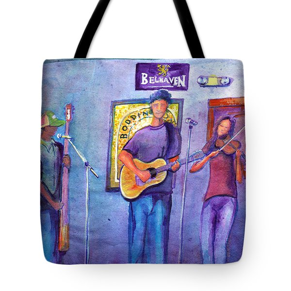 Damnation At The Cala Tote Bag by David Sockrider