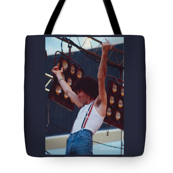 Dan Mccafferty Of Nazareth At Day On The Green 4th Of July 1979 Tote Bag