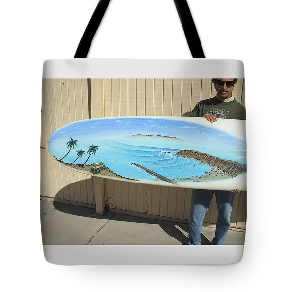 Dana Point 1950s Tote Bag