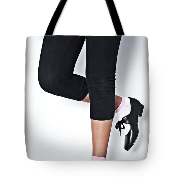 Tap Dance Shoes From Dance Academy - Dance 4 Tap Tote Bag