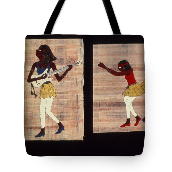 Dance And Flute Tote Bag