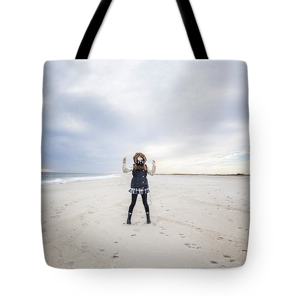 Dance At The Beach Tote Bag