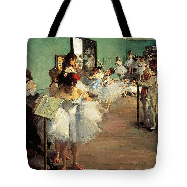 Dance Examination Tote Bag by Edgar Degas