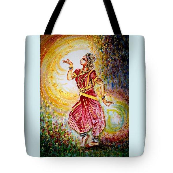 Dance 2 Tote Bag by Harsh Malik