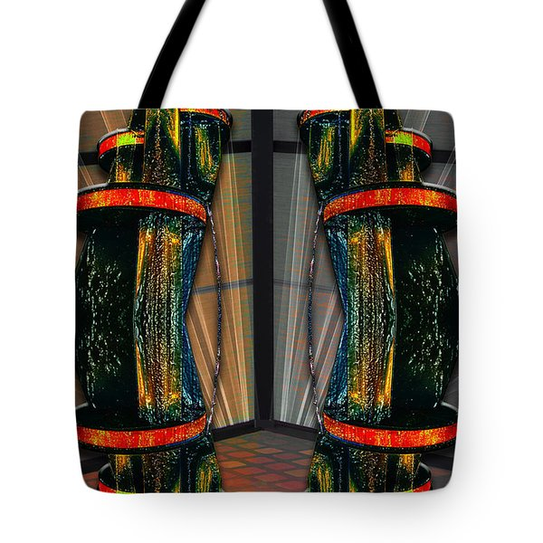 Dance In The Abstract Tote Bag by John Haldane