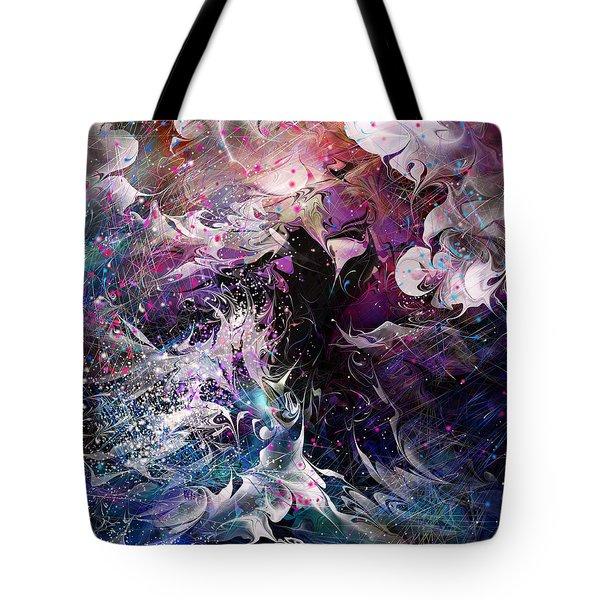 Dance In The Seas Tote Bag by Rachel Christine Nowicki
