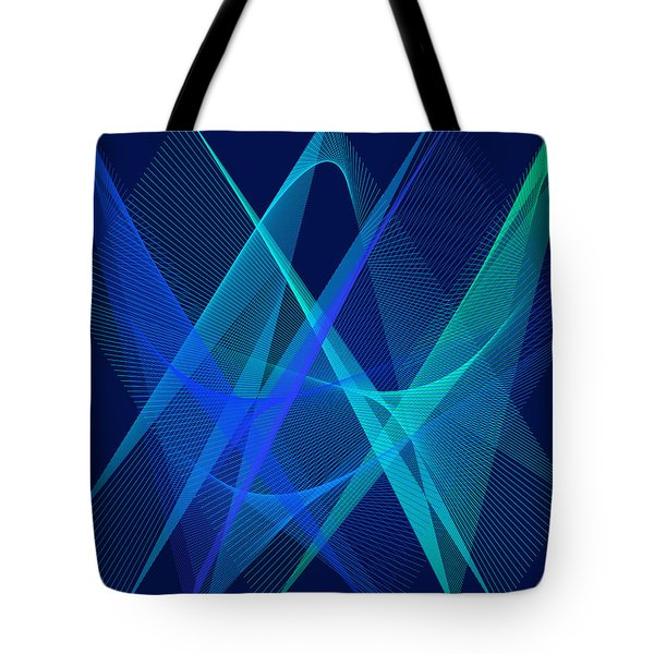 Tote Bag featuring the digital art Dance by Karo Evans